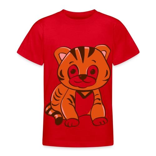 Bébé tigre orange et noir - T-shirt Ado