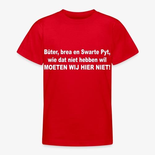 Bûter, brea en Swarte Pyt - Teenager T-shirt