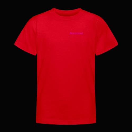 noccoboi oldschool logo - T-shirt tonåring