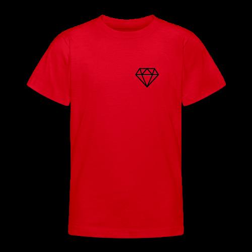 black diamond logo - Teenage T-shirt