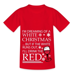 White Christmas - Teenage T-shirt