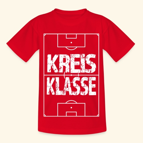 KREISKLASSE im Fußballfeld - Teenager T-Shirt