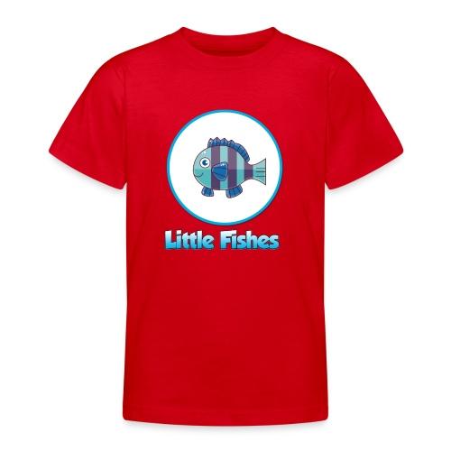 Little Fishes Logo - Teenage T-shirt