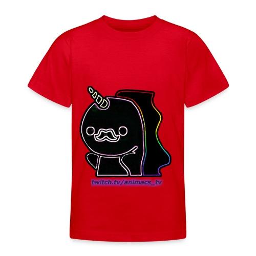 Einhornneon randlos - Teenager T-Shirt