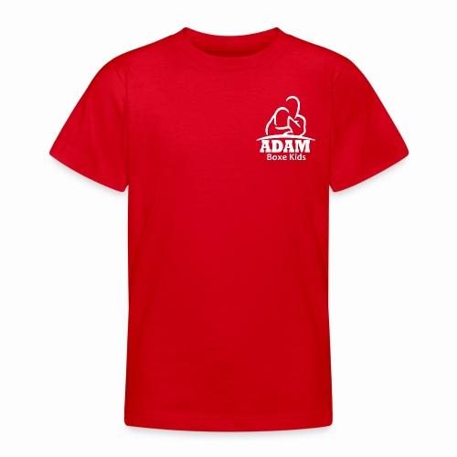 logo adam boxe enfant blanc - T-shirt Ado