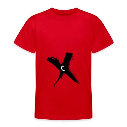 Cinnox Logo Kreuz - Teenager T-Shirt