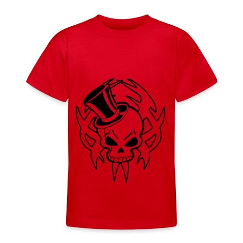 snazzy skull - Teenage T-shirt