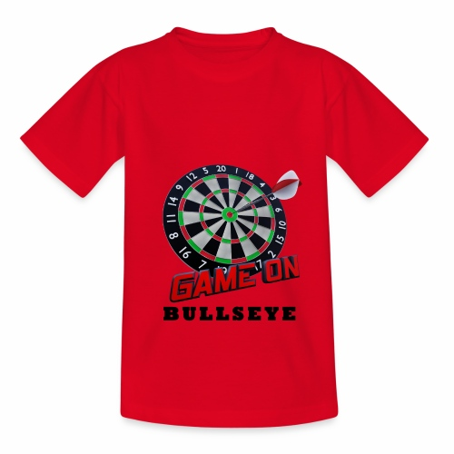 Darts Bullseye Game on - Teenager T-shirt