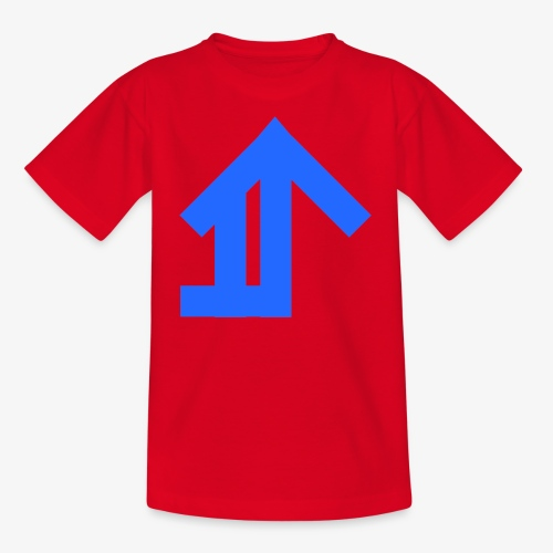 Blue Classic Design - Teenage T-Shirt
