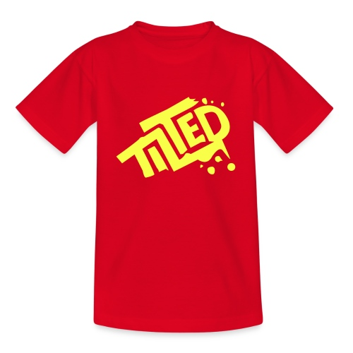 Fortnite Tilted (Yellow Logo) - Teenage T-shirt