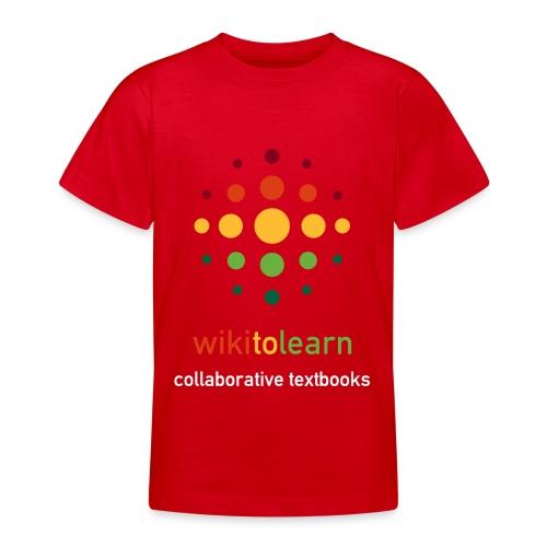 wikitolearn-logo - Maglietta per ragazzi