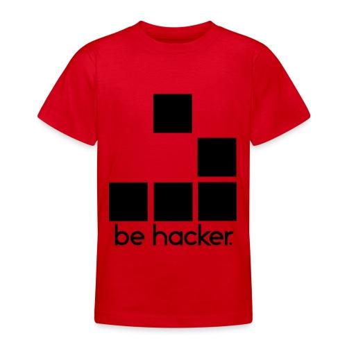 be_hacker-png - Maglietta per ragazzi