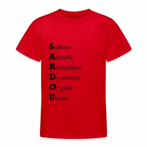 Sardou hommage - T-shirt Ado