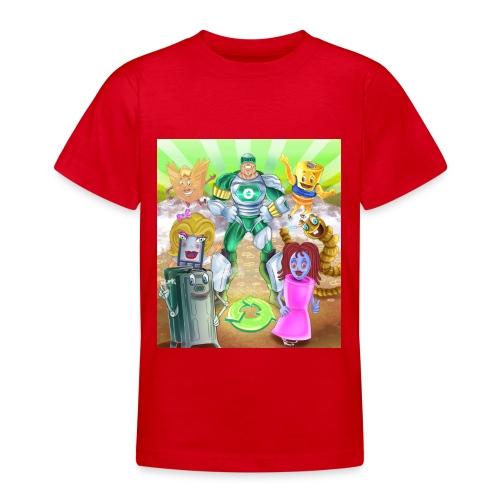 Captain Reece Icle - Teenage T-shirt