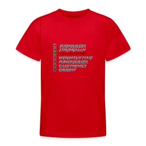 Powerlifter - Teenager T-shirt
