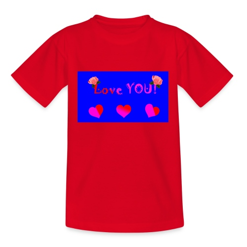 LOVE YOU - Teenage T-shirt