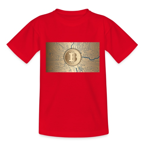 bitcoin 3089728 1920 - Teenager T-Shirt