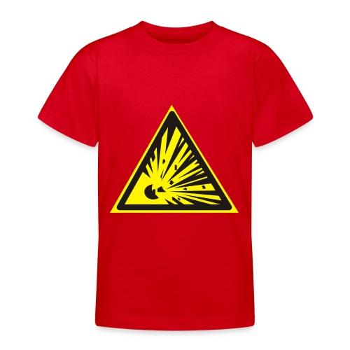Uwaga! Materiał Wybuchowy! - Koszulka młodzieżowa