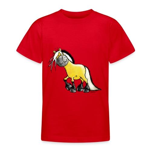 fjord_horse-png - Teenage T-shirt