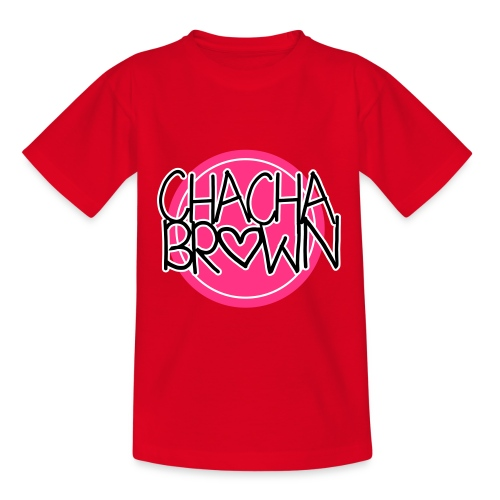 Chach Brown Big Logo - Teenager T-shirt