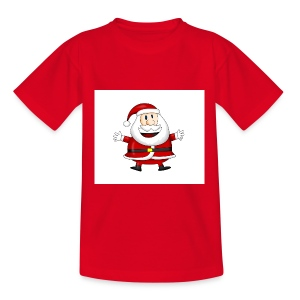 Happy-Santa-1--jpg - Teenager T-shirt