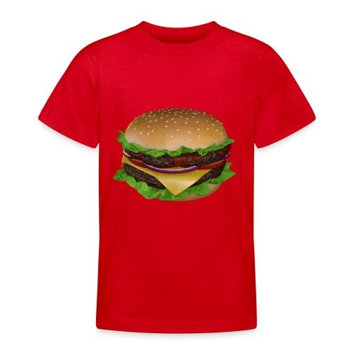Burger - T-shirt tonåring