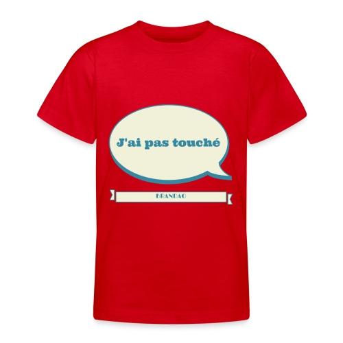 pas-touché-brandao - T-shirt Ado