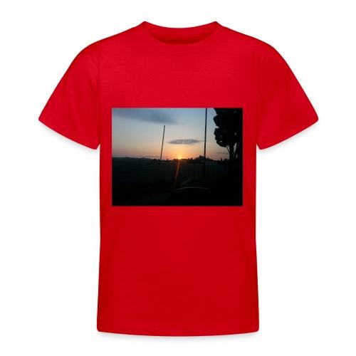 sol de noche - Camiseta adolescente