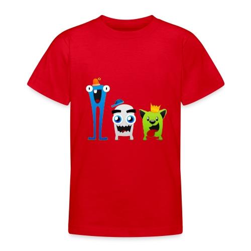 huppet duppets - Teenager T-shirt