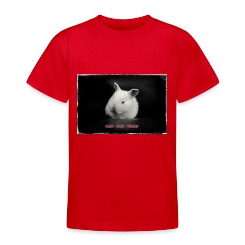 klein weiss tödlich - Teenager T-Shirt