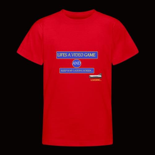video sleep - Teenage T-shirt