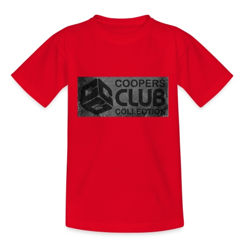 Coopers Club Collection distressed logo - Teenage T-shirt
