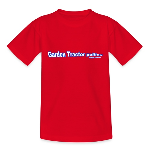Børne Garden Tractor pulling - Teenager-T-shirt