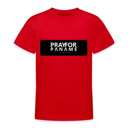 TEE-SHIRT HOMME - PRAY FOR PANAME - T-shirt Ado