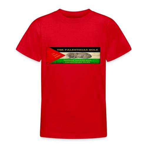 The Palestinian Mole - Teenage T-shirt