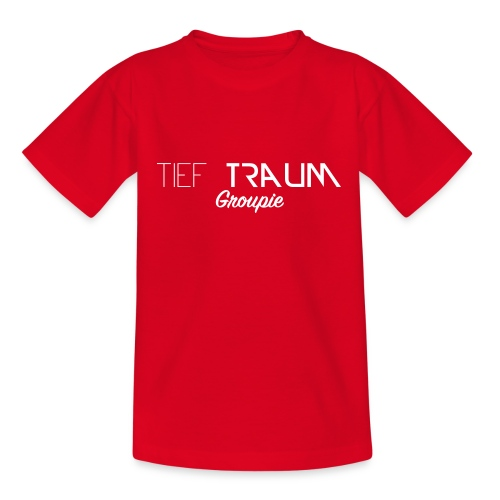 Tief Traum Groupie - Teenager T-shirt