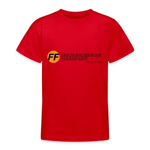 Din by, fit valg - Børnekollektion - Teenager-T-shirt