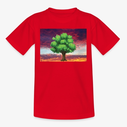 Tree in the Wasteland - Teenage T-shirt