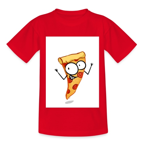 pizza - Teenager-T-shirt