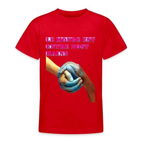 Pueblo unido - Camiseta adolescente