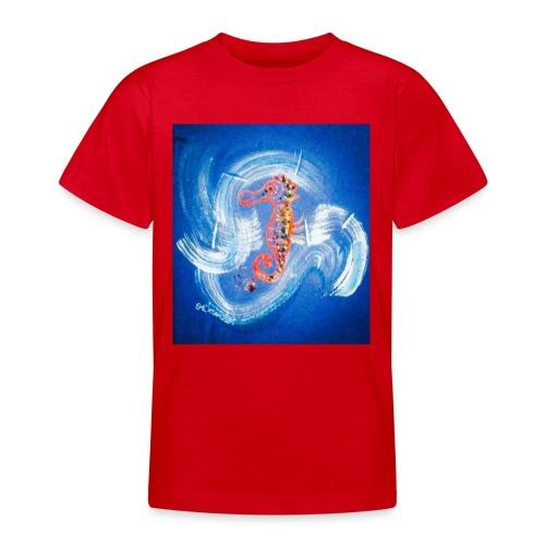 PSX 20181102 184348 Babyseepferdchen - Teenager T-Shirt