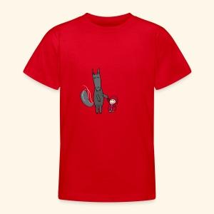 Le loup et le petit chaperon rouge - T-shirt Ado