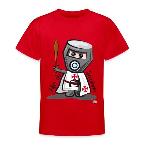 Hijo de templario (Casco) - Camiseta adolescente