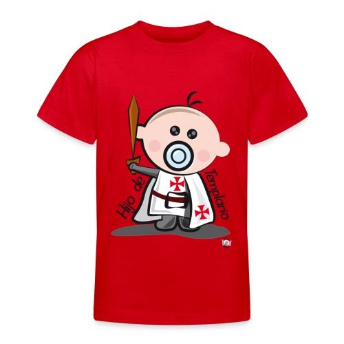 Hijo de templario - Camiseta adolescente