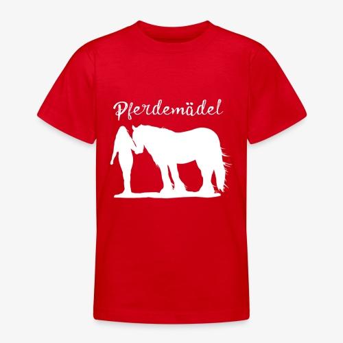 Pferdemädel - Teenager T-Shirt