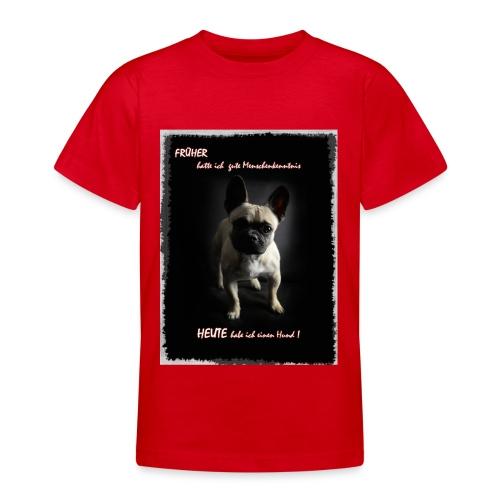 hunde sind die besten - Teenager T-Shirt