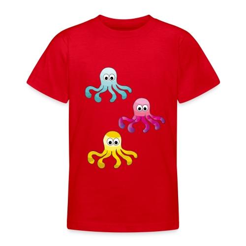 Tintenfisch ❤ - Teenager T-Shirt
