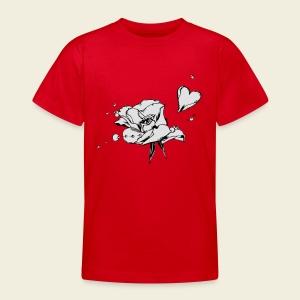 Rosenblattherz - Teenager T-Shirt
