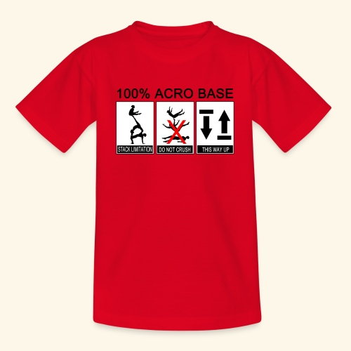 100% Acro Base - Women - Teenage T-shirt