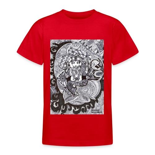 Psychedelic Ganesha - Maglietta per ragazzi